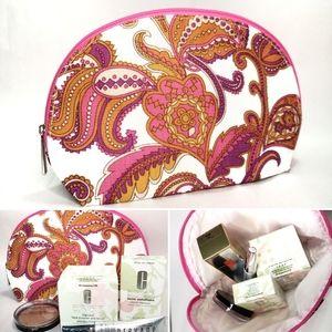 NWOT Clinique Bag Cosmetic Makeup Travel Case